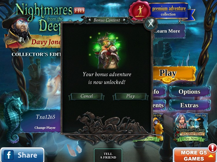 Go Under The Sea With My New Fave - Nightmares from the Deep 3 Davy Jones!