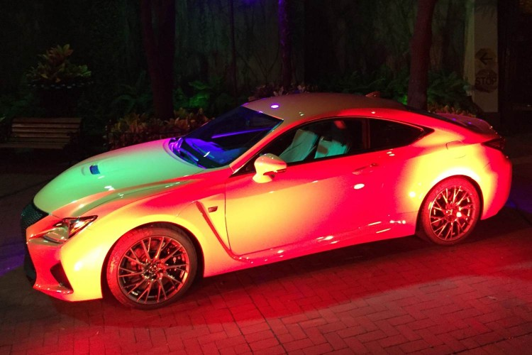 GearDiary All-New 2015 Lexus RC 350 and RC F Sport Coupes 'Bring It'