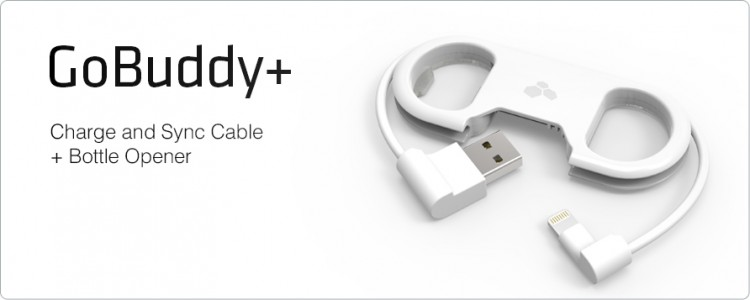 Kanex GoBuddy+ Charge and Sync Cable - the Bottle Opener Keyring We'll All Want