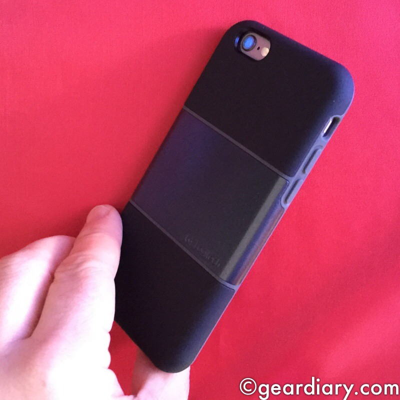GearDiary Logitech protection[+] for iPhone 6 Protects and Holds