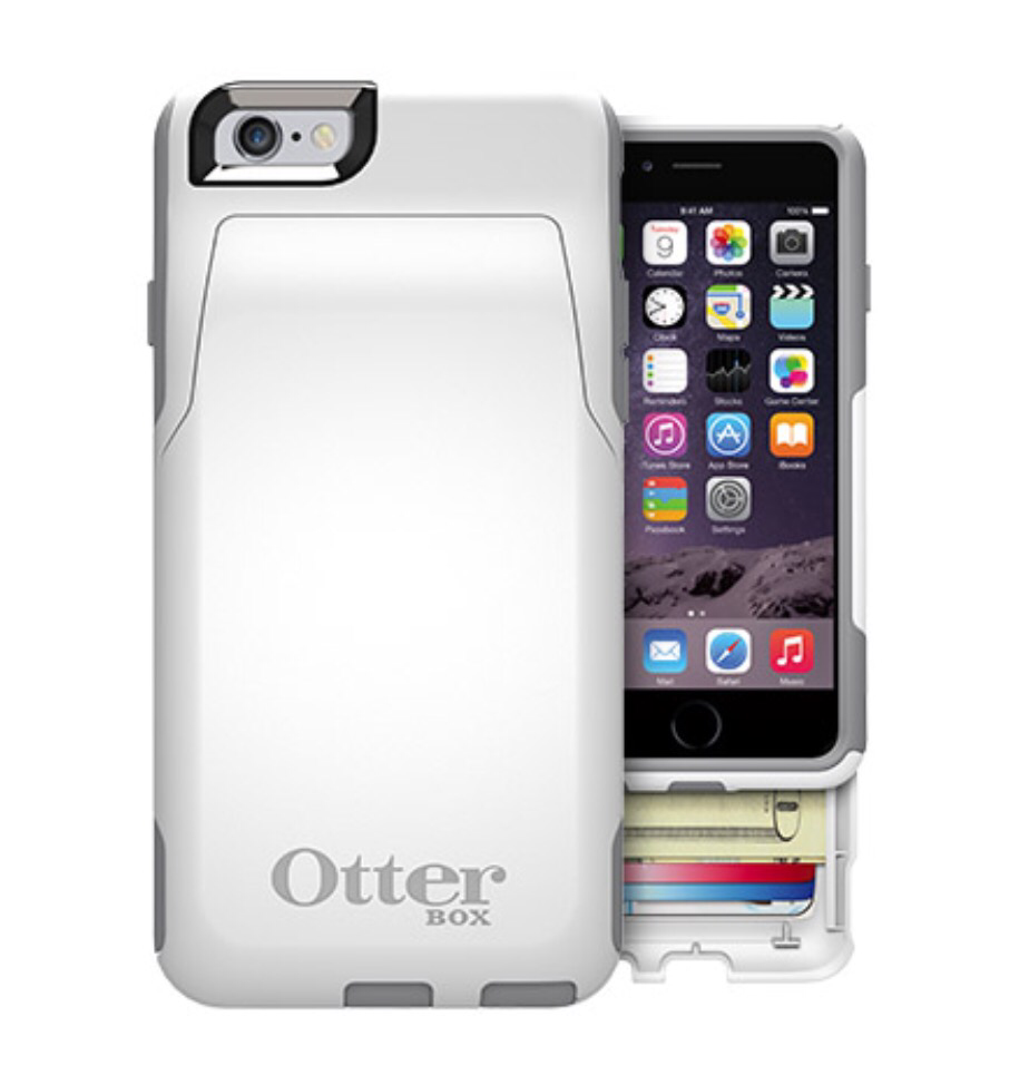 wallet for iphone 6 otterbox commuter series iphone 6 wallet does it all 3067