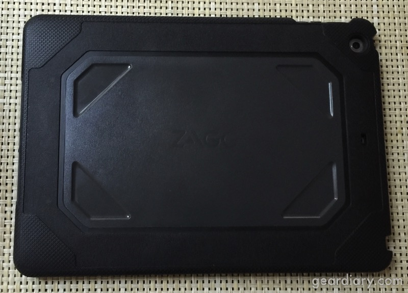 Zagg Rugged Folio Keyboard Case For The Ipad Air