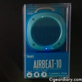 Divoom Airbeat-10 Water-Resistant Bicycle and Shower Bluetooth Speaker