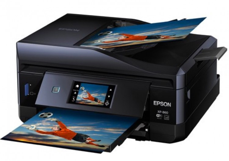 GearDiary Epson Expression Photo XP-860 All-in-One Printer Is Small and Social