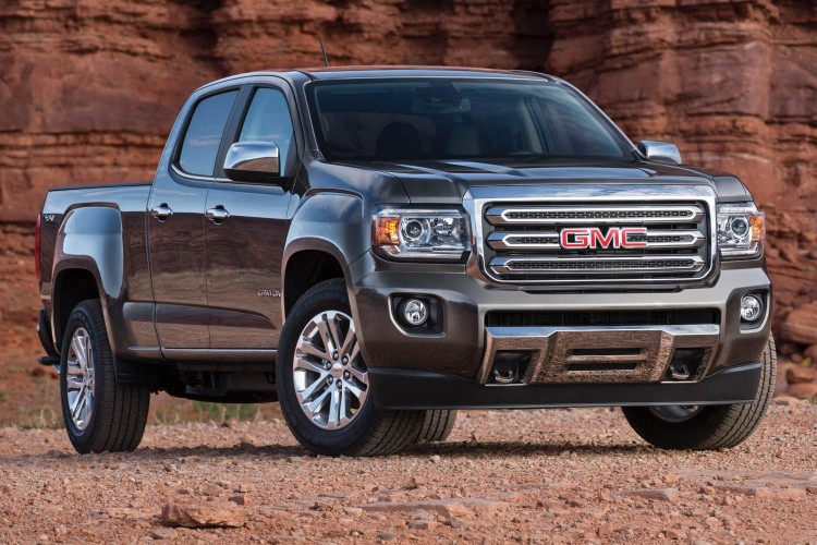 2015 GMC Canyon/Images courtesy GMC