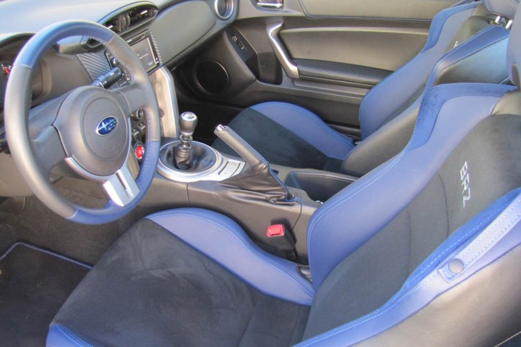 GearDiary 2015 Subaru BRZ Series.Blue: a Fun, Responsive Driving Experience