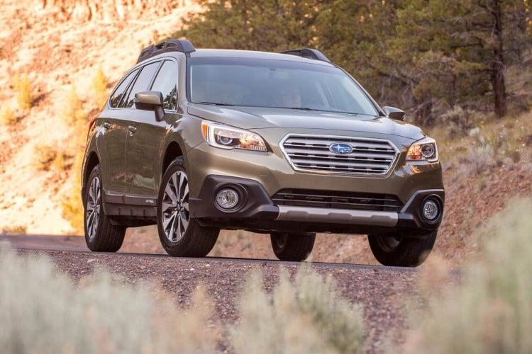 2015 Subaru Outback/Images courtesy Subaru