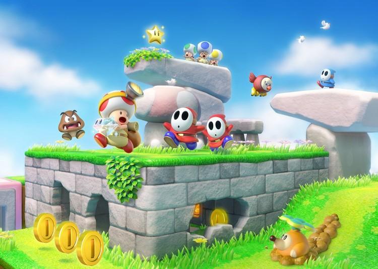 GearDiary Captain Toad: Treasure Tracker Review on Nintendo Wii U