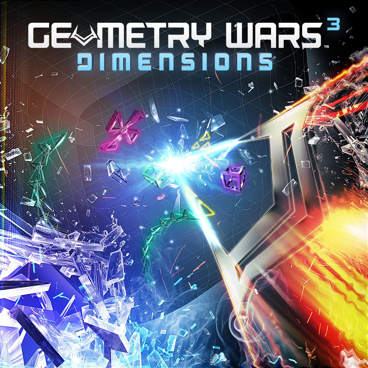 GearDiary Geometry Wars 3: Dimensions Review on PlayStation 3