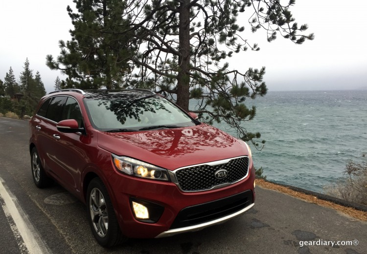 Gear Diary Covers the 2016 Kia Sorento Press Introduction at Lake Tahoe.00