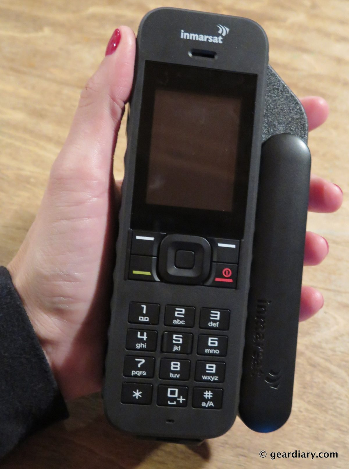 GearDiary The Inmarsat IsatPhone2 Review: Never Be Out of Reach