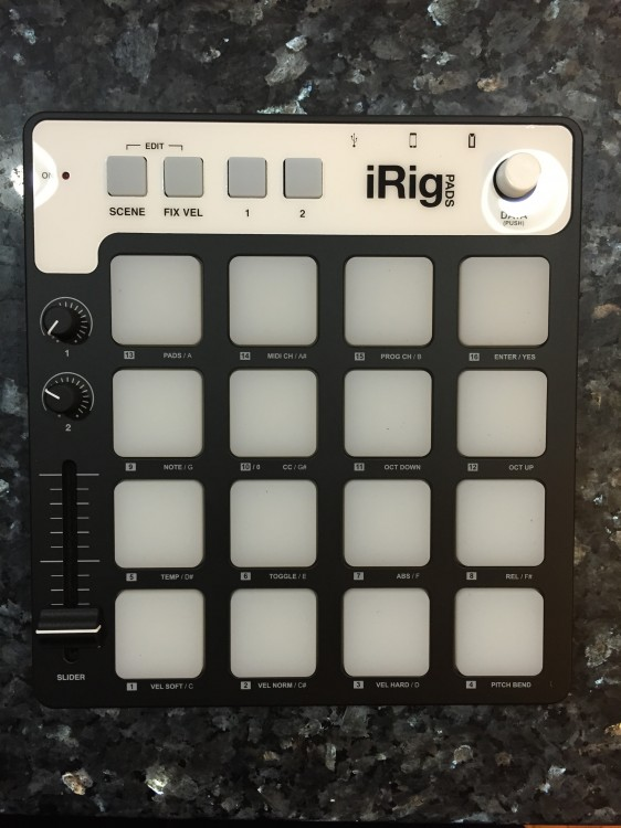 Feel the Beat with iRig Pads Controller by IK Multimedia
