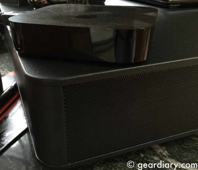 GearDiary ZVOX SoundBase 670 Offers Huge Home Theater Sound in a Slim Package