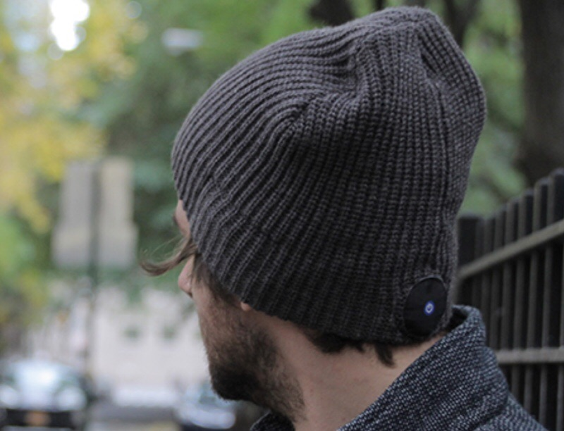GearDiary 1 Voice Beanie with Bluetooth Stereo Built In