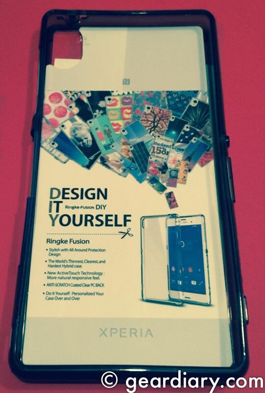 GearDiary Ringke FUSION Sony Xperia Z3 Case Review