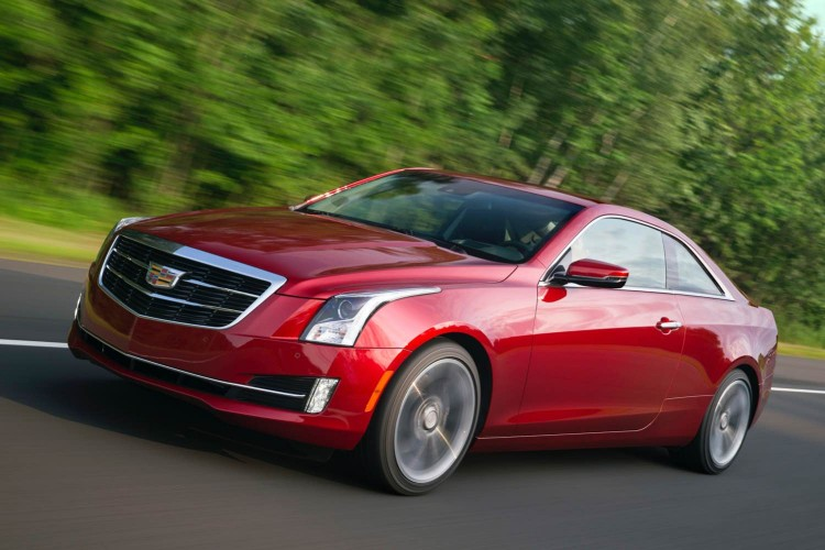 2015 Cadillac ATS Coupe/Images courtesy Cadillac