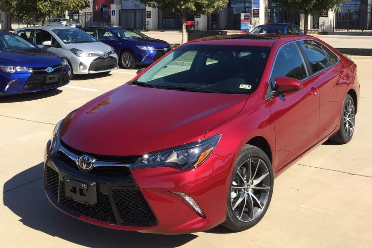 2015 Toyota Camry/Images by Author