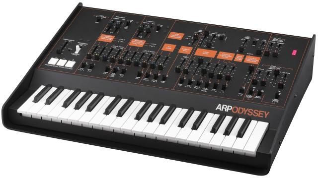 GearDiary Korg ARP Odyssey Analog Synthesizer Unveiled at NAMM 2015