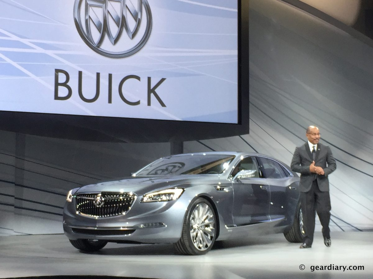 GearDiary The Buick Avenir Concept: A Flagship That Explores Technology and Comfort