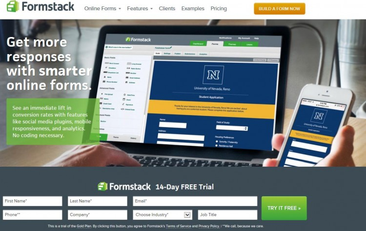 GearDiary Formstack Fills the Hole Left by Adobe Form Central Retirement