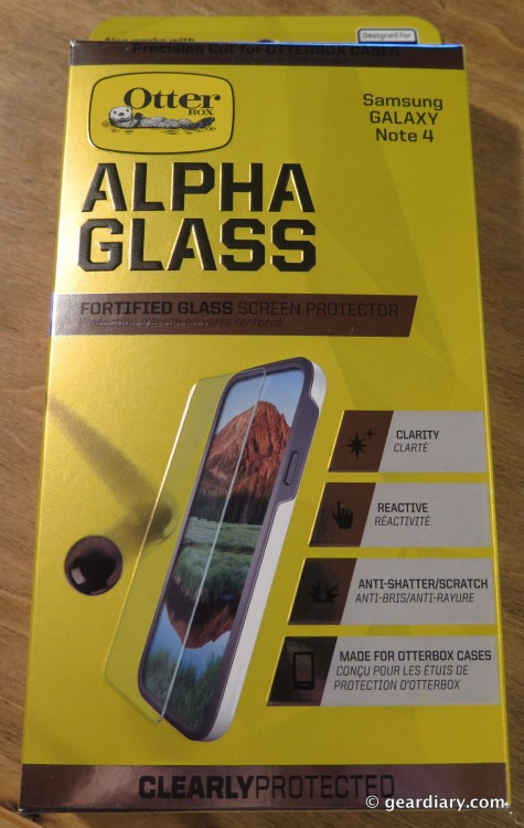 Gear Diary Reviews OtterBox Alpha Glass Screen Protector