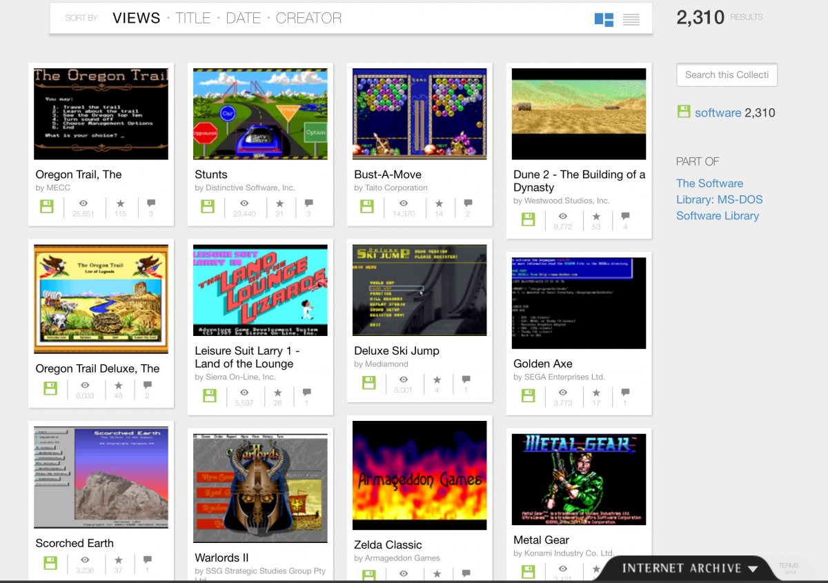 Play 2400 Classic DOS Games … In Your Web Browser!