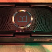 Monster Superstar Backfloat Portable Speaker Swims with You!
