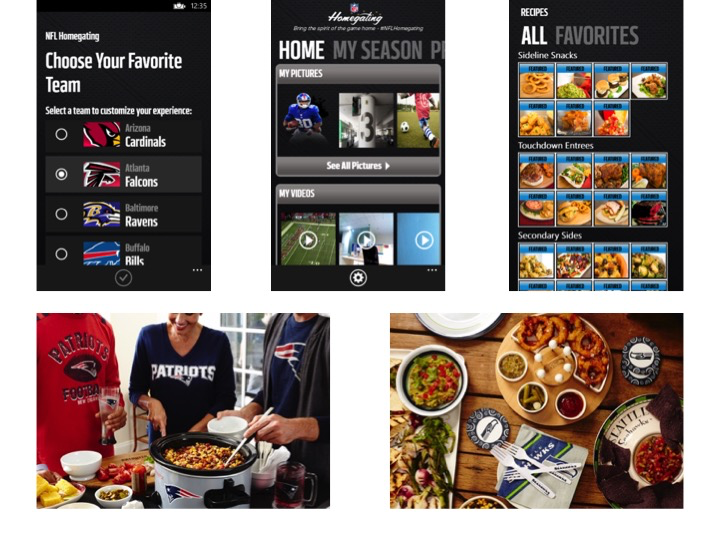 GearDiary NFL Homegating App Is Ready for Your Super Bowl 49 Party!