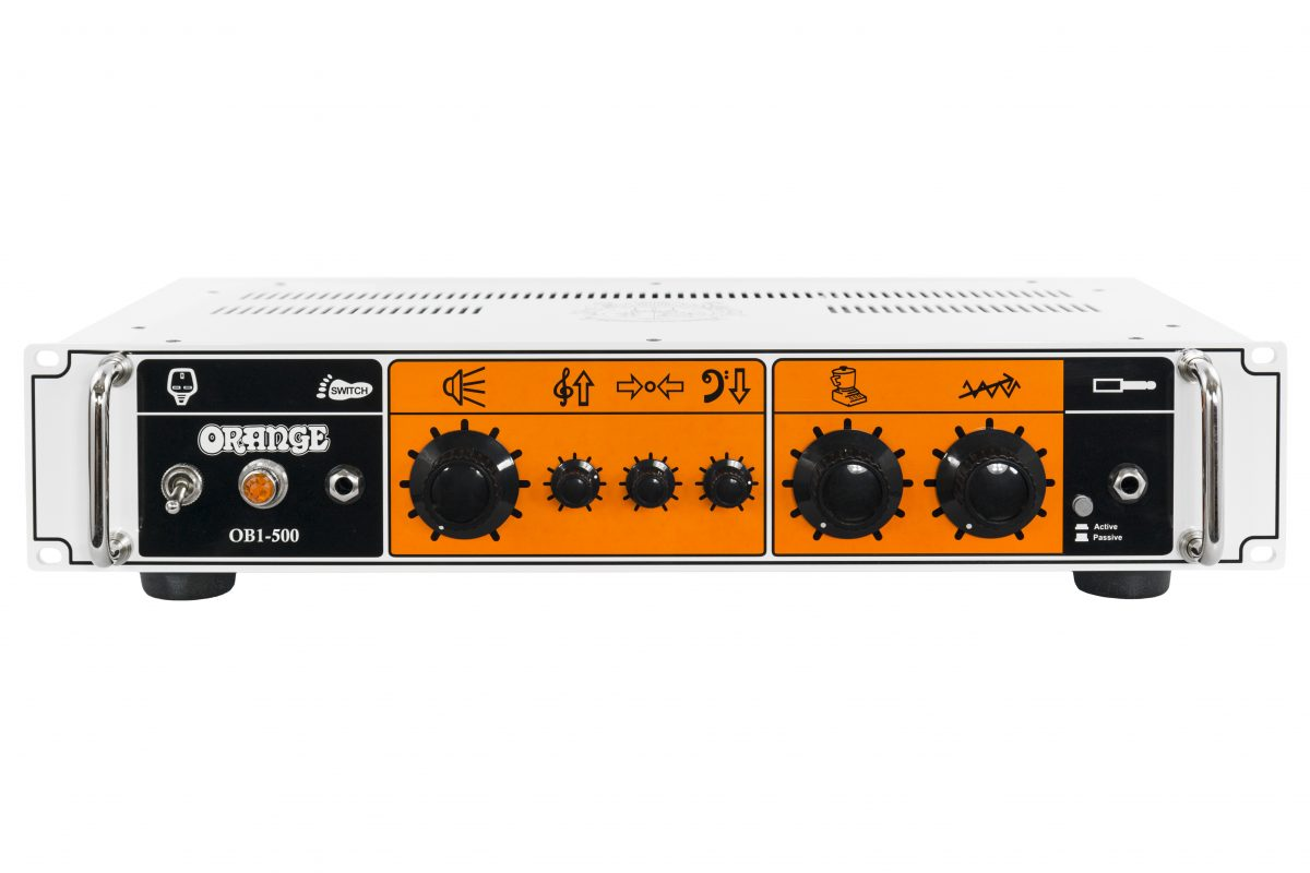 GearDiary Orange OB1 Series Bass Amplifiers Launched at NAMM 2015!