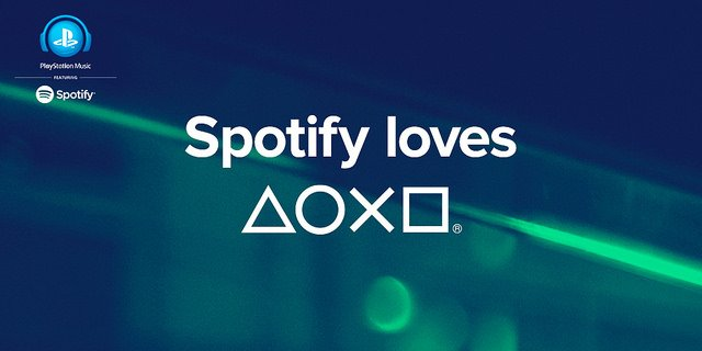 Spotify Sony Playstation Music