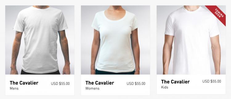 Threadsmiths' Cavalier T-Shirt Breaks the 'Curse of the White Shirt'