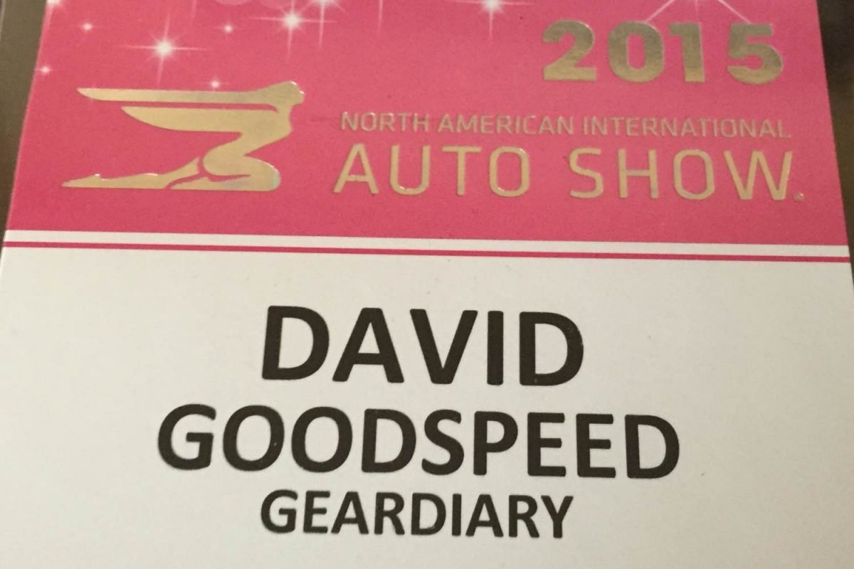 GearDiary 2015 North American International Auto Show Photo Gallery