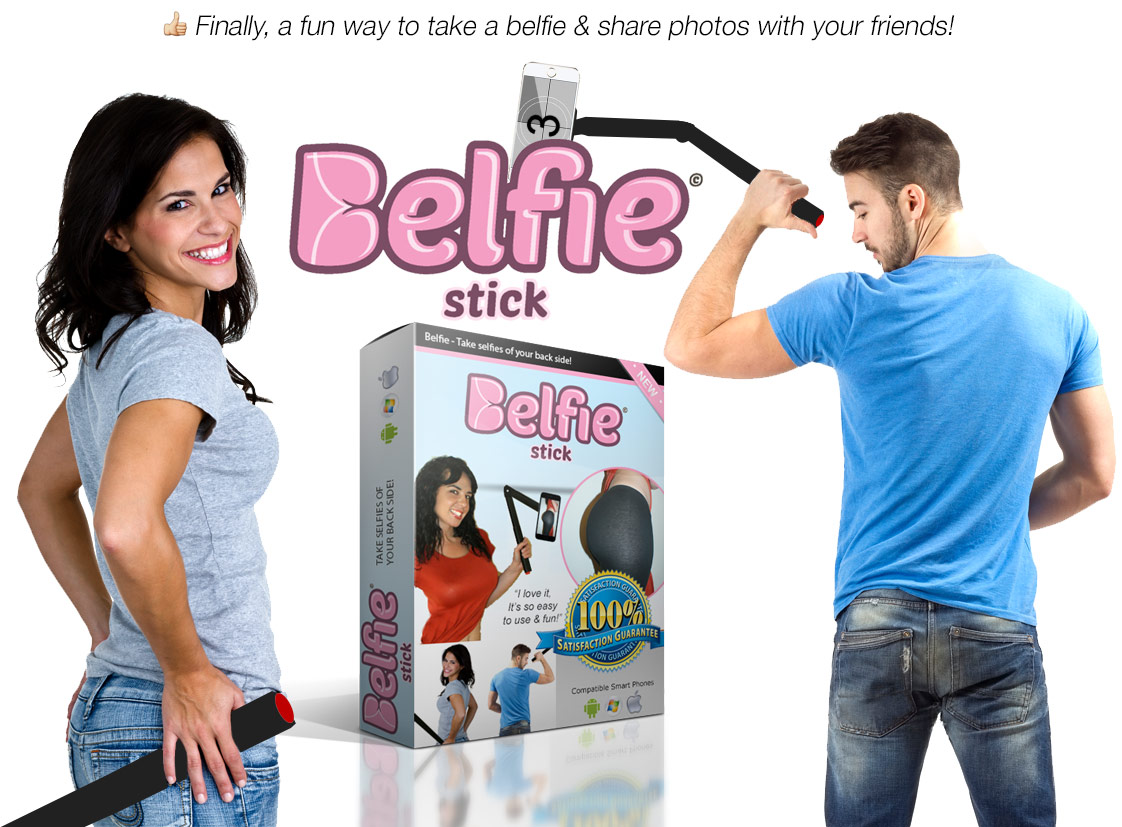 GearDiary The Belfie Stick Seeks to Prove There Are Better Ways to Make an Ass of Yourself