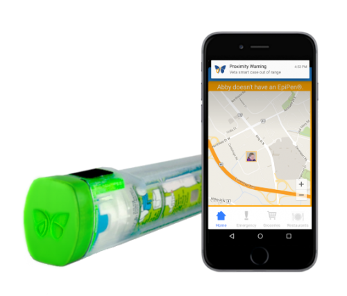 GearDiary Aterica Helps Track Your EpiPen with Veta Smart Cases and App