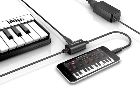 GearDiary IK Multimedia Announces iRig PowerBridge Universal Charging Solution
