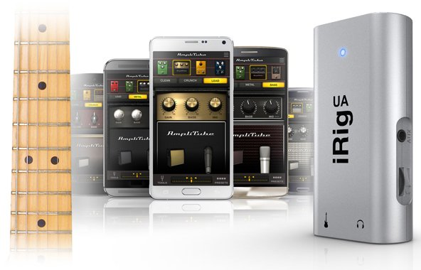 GearDiary IK Announces iRig UA, First Guitar Processor for All Android Devices