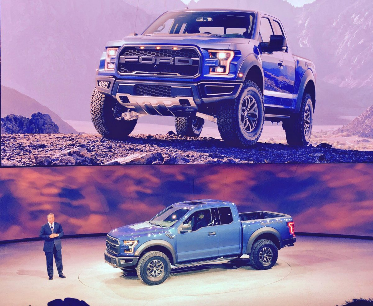 GearDiary 2017 Ford F-150 Raptor Video from NAIAS