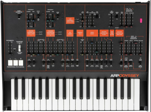 GearDiary Korg ARP Odyssey Analog Synthesizer Unveiled at NAMM 2015
