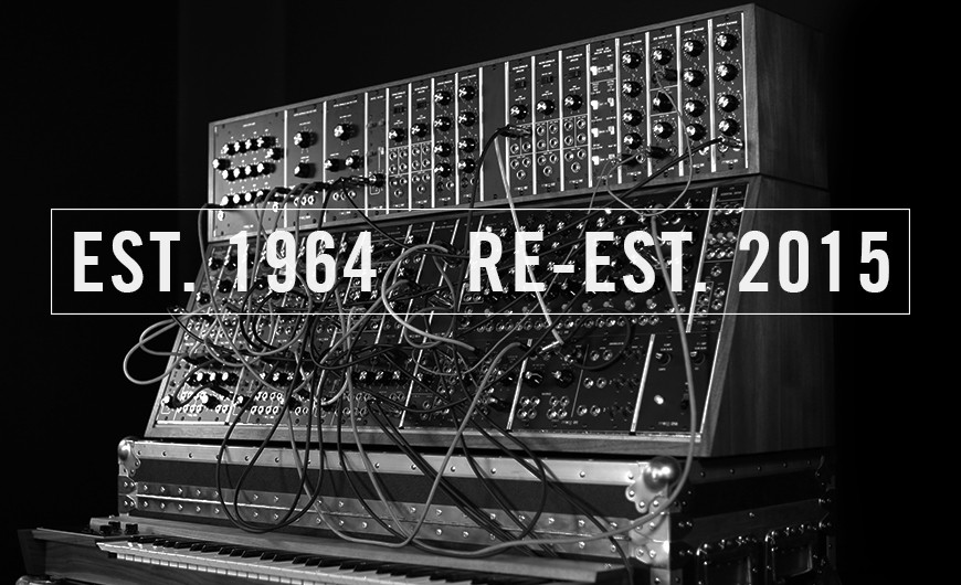 GearDiary Moog Brings Back Three Legendary Modular Large-Format Synthesizers