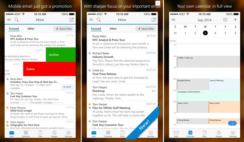GearDiary Take the Outlook Mobile App Challenge!