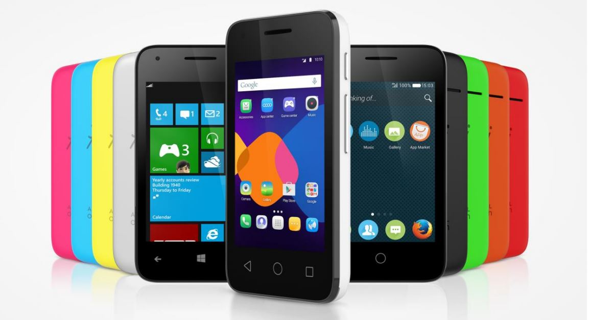 GearDiary Alcatel Introduces Pixi OS Agnostic Phone at CES 2015