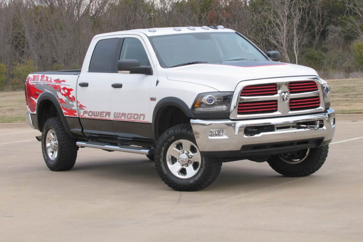 2015 ram 2500 power wagon reports for duty geardiary. Black Bedroom Furniture Sets. Home Design Ideas