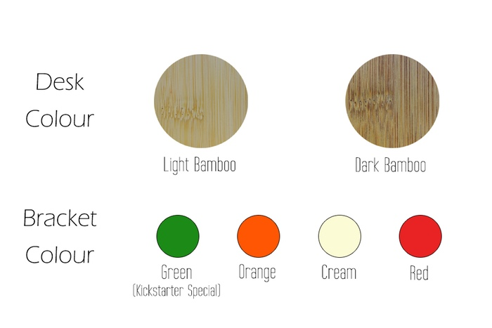 A few different color schemes to choose from