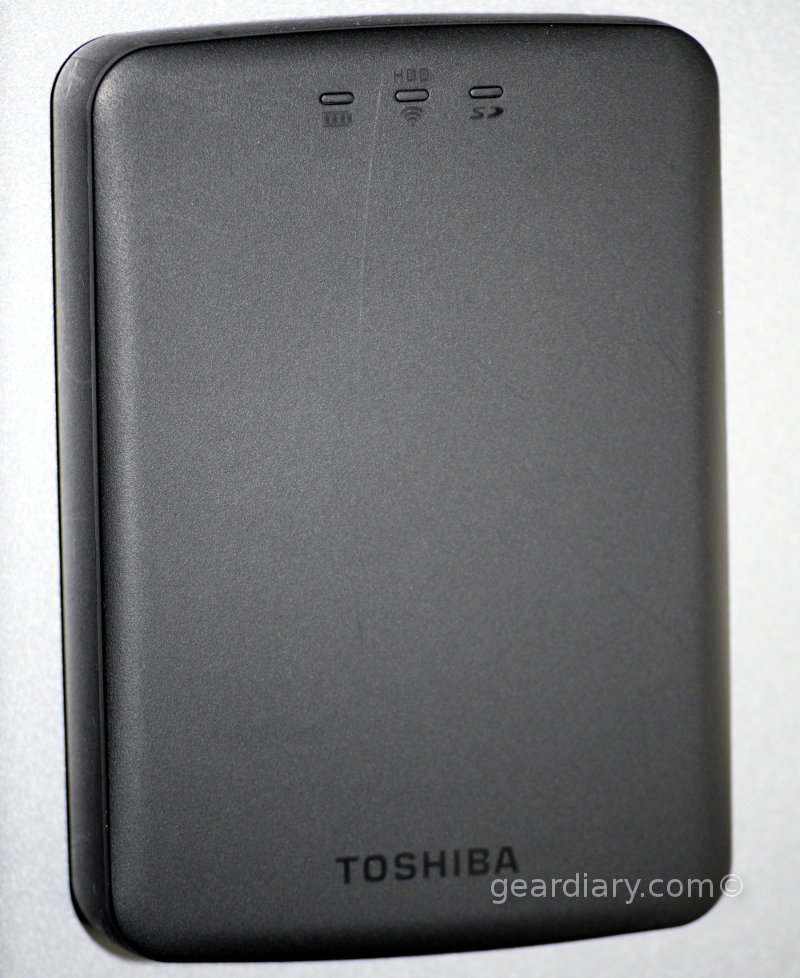 GearDiary Toshiba Canvio Aerocast WiFi Hard Drive Review: Back It Up and Stream It!