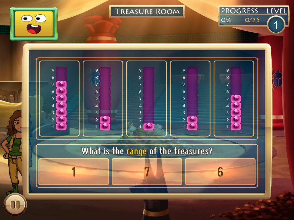 GearDiary SMART Adventures Mission Math 2 - Peril at the Pyramids Comes to the iPad
