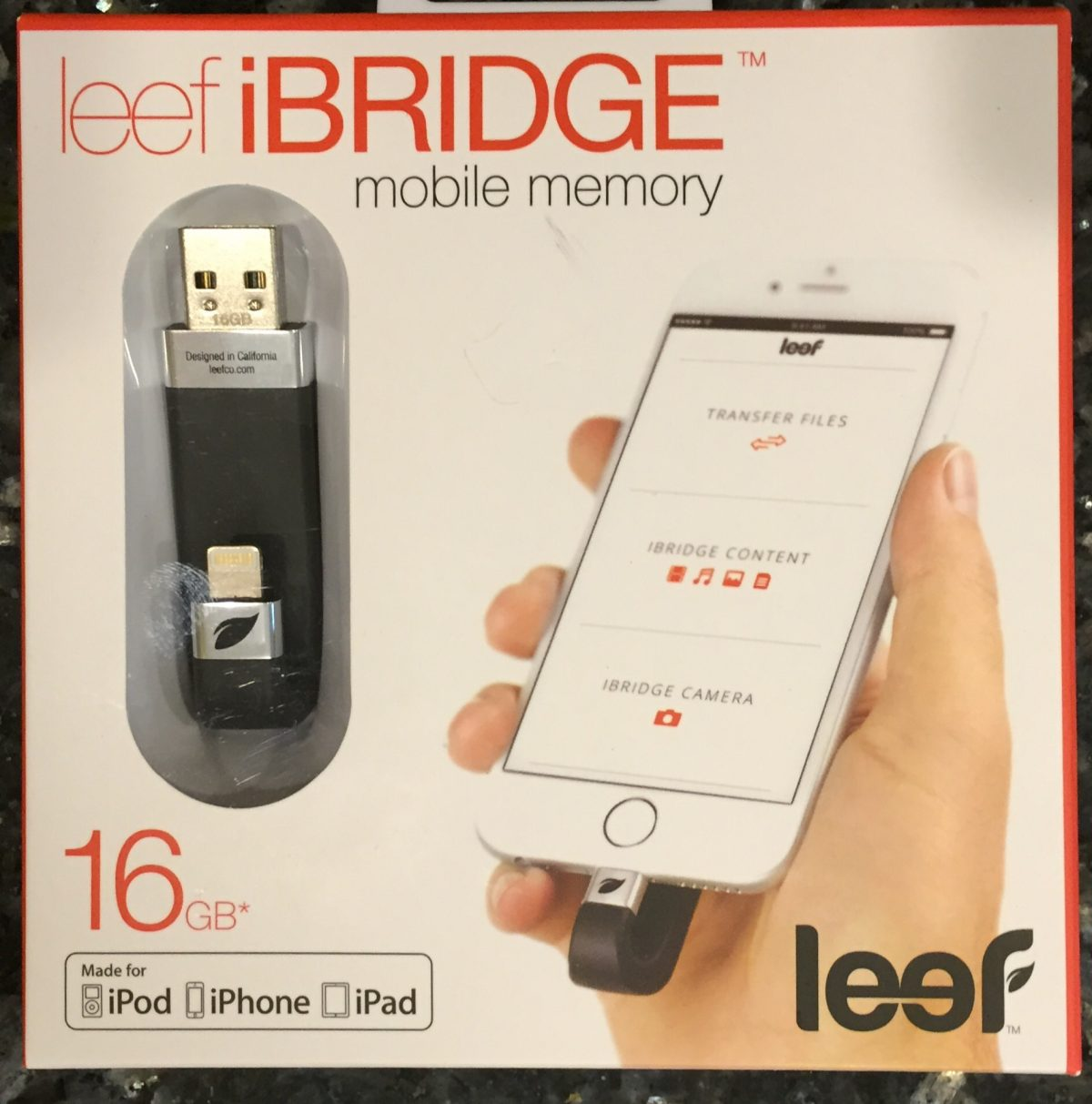 GearDiary Leef iBRIDGE Review: Brings Well Designed External Storage to iOS Devices