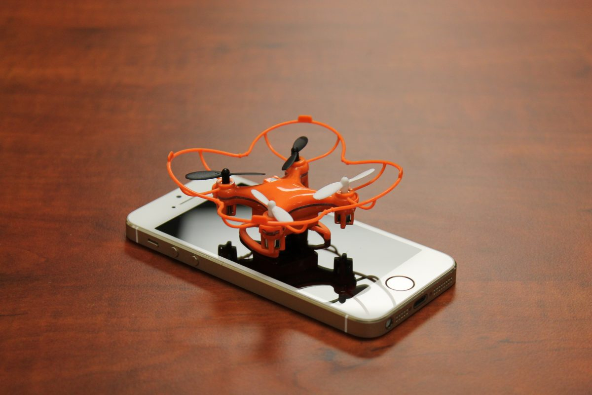 GearDiary Send in the Axis Nano Drones - A Perfect Fit Just the Size of Your Phone