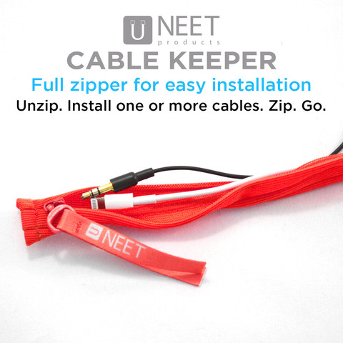 NEET Cable Keeper Review: Organize and Color Code Your Cables