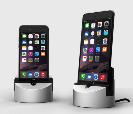 GearDiary Henge Docks Gravitas Review with iPhone 6 and 6 Plus Inserts