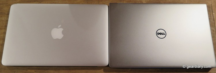 The Dell XPS 13 versus the 11 Apple MacBook Air-015